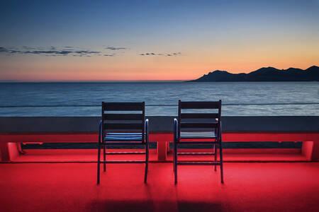 Cannes Twilight