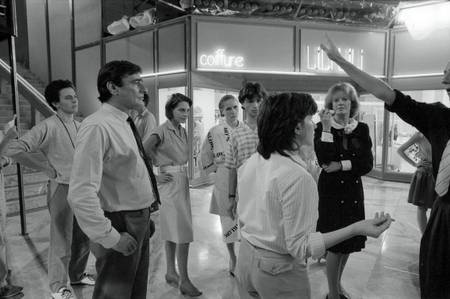 Tournage du film Golden Eighties