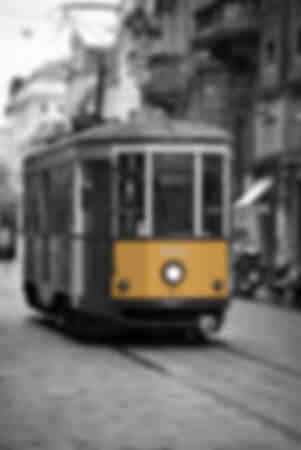 Viejo tranvía