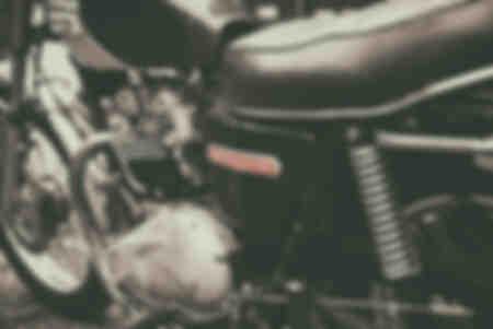 Vintage english motorcycle