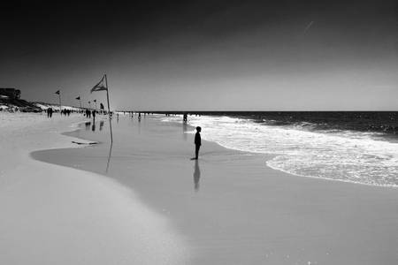 Contemplating the sea