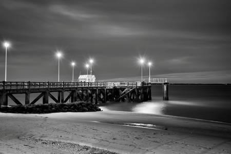 Pier long exposure