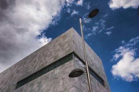 Urban lamp post in Spain