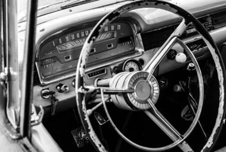 Ford interior 1948
