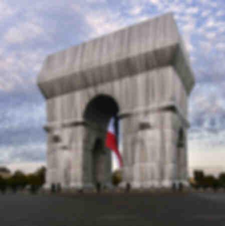 L'Arco di Trionfo gremito