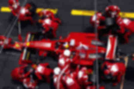 Ferrari F1 tanken - Michael Schumacher