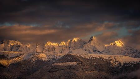 Belledonne in winter