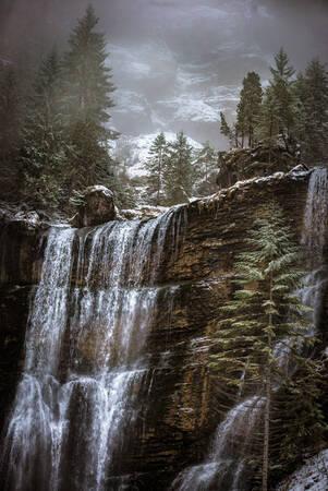 Grande Cascade de St Même