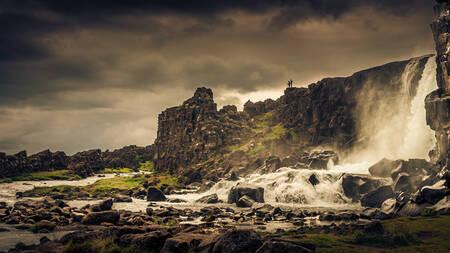 La faille de Thingvellir