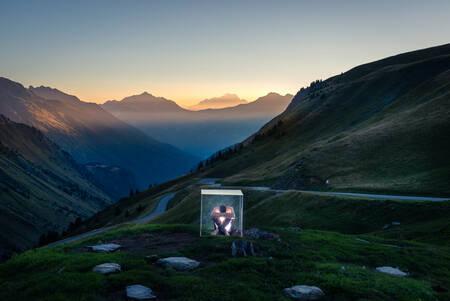La Frontière du Cube au Col du Glandon