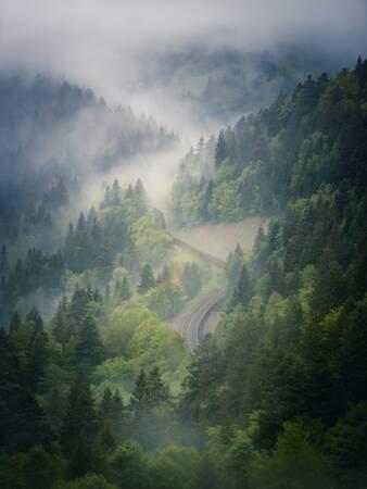 La route du Col