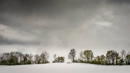 Mai sous la neige