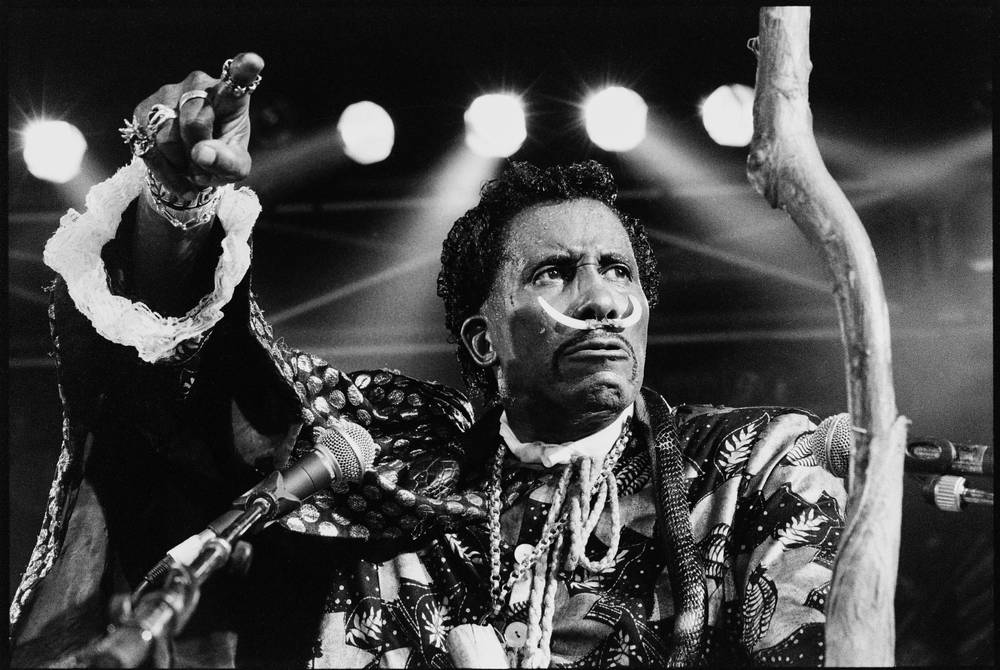Screamin Jay Hawkins 1995 Concert