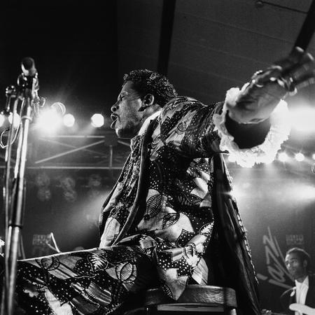 Screamin Jay Hawkins 1995 concert 003