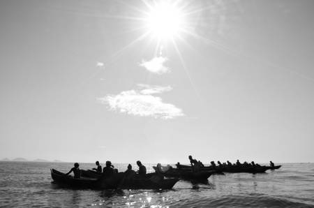 Pêcheurs à la pêche