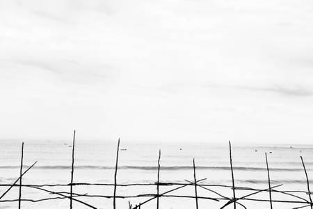 Pirogues à la mer
