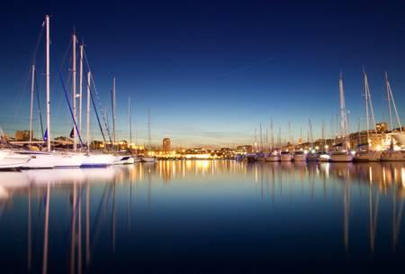 le Port en Bleu