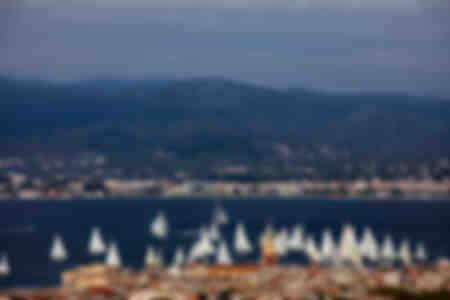Die Segel von St-Tropez