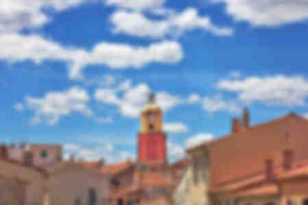 Saint-Tropez und die kleinen Wolken
