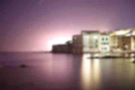 Saint-Tropez - La Glaye unter einem Regen von Sternen
