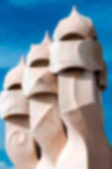 Pedrera ou Casa Mila de Gaudi