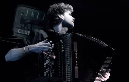 Vincent Peirani accordionist and composer