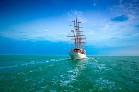 Sea Cloud sailboat of 110 m