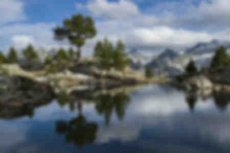 reflet de montagne