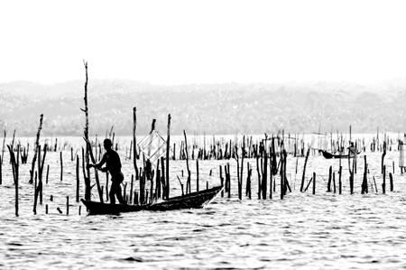 pêcheur du canal
