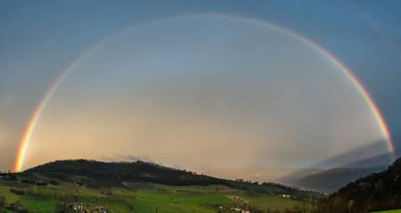 rainbow on the Vercors