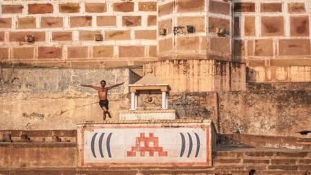 yoga in Benares