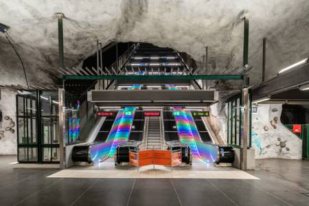 Näckrosen metro station