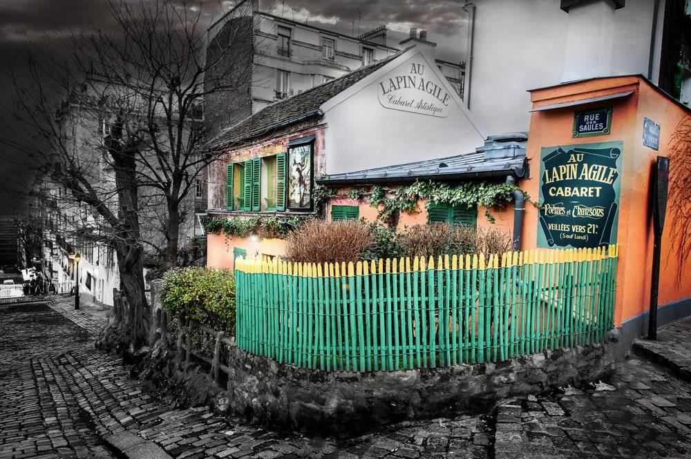 Au Lapin Agile Cabaret A Montmartre