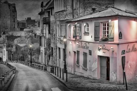 La maison rose à Montmartre