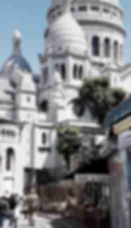 Montmartre L e Sacré Coeur