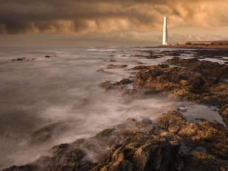 Leuchtturm der Punta de Faro