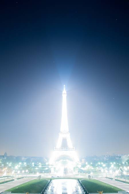 Stars and Eiffel Tower 2