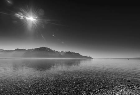 Against day on Lake Geneva
