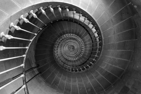 Staircase of the Lighthouse of the Whales