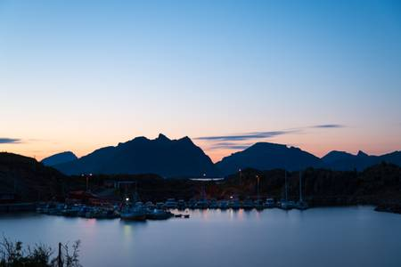 The port of Stamsund