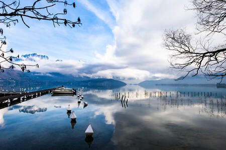 Lake Annecy - panorama
