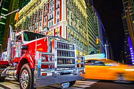 NY Times Square Truck