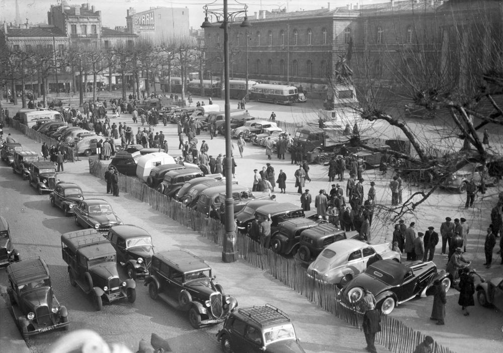 La Place De La Republique 1953