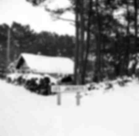 Arcachon Bay under the snow in February 1956
