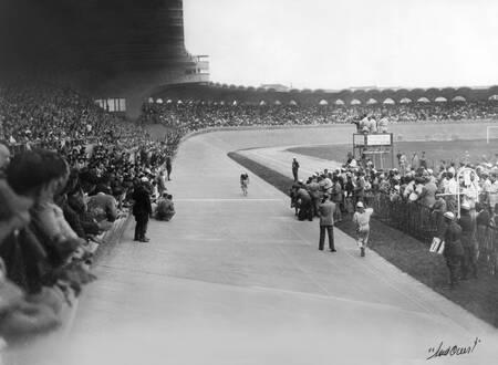Arrivée du Tour à Bordeaux en 1952