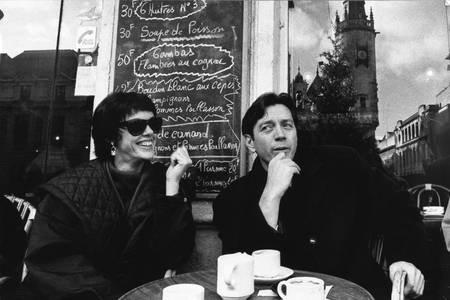 Bernard Giraudeau et Annie Duperey à La Rochelle