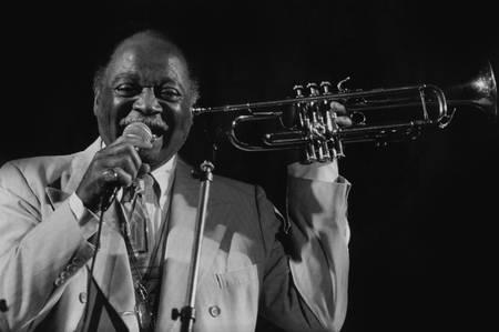 Clark Terry au festival de jazz à Marciac