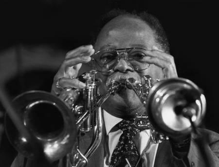 Clark Terry au festival de jazz de Marciac