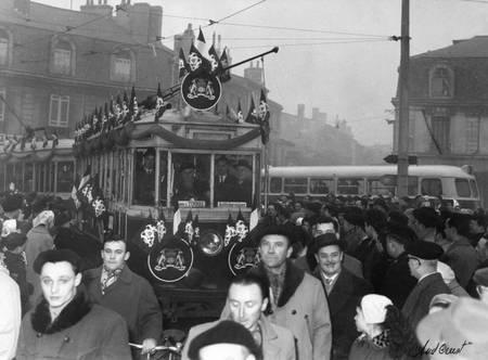 Dernier convoi du tram