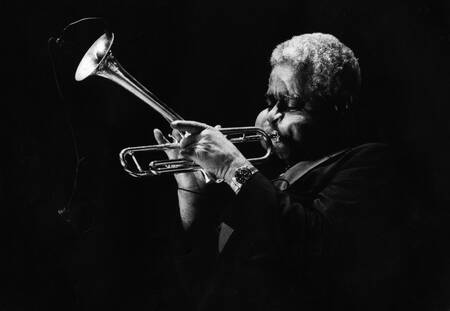 Dizzy Gillespie at the Arcachon jazz festival